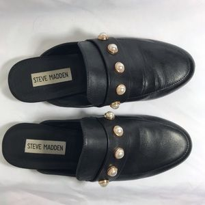 Steve Madden Pearl Detail Loafers